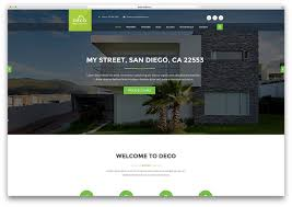 top 20 html5 real estate website templates 2017 colorlib deco real estate html5 website template