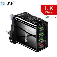 OLAF 3.0 <b>USB</b> Charger QC3.0 Fast Charging Mobile Phone ...