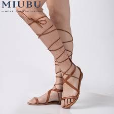 <b>MIUBU</b> Plus Size 5 10 Fashion Gladiator Sandals <b>Women Sexy</b> ...