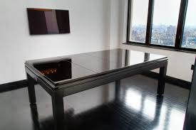 beautiful white black wood glass modern design dining room white paint black rectangle table black wood black wood dining room