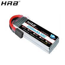 HRB 7,4 V 2200mah Lipo <b>Battery</b> TRX 2S XT60 50C T Deans JST ...