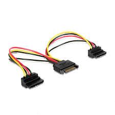 <b>Аксессуар</b> Кабель питания <b>Gembird Cablexpert</b> SATA 15 pin M ...