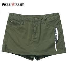 FREEARMY Casual <b>Women's</b> Shorts Skirts <b>Cotton</b> Skinny <b>Korean</b> ...