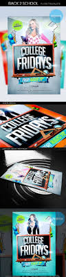 back to school flyer template flyer templates flyer templates college party flyer template