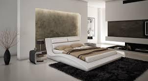 bedroom set main:  wave bed white