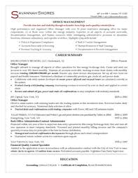 resume samples  resume  savannah offers value through steady years of office management experience we wanted to capture this by adding a strong career summary and bulleted keyword