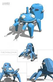 17 best images about mecha references spaceships tachikoma spidertank from ghost in the shell ★ character design references