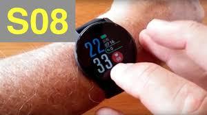 <b>SENBONO</b> S08 <b>IP68</b> Waterproof Multi-Function Blood Pressure ...