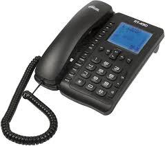 Купить Проводной <b>телефон RITMIX RT</b>-<b>490</b>, черный в интернет ...