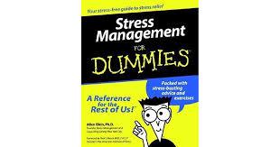 <b>Stress Management</b> for Dummies by <b>Allen Elkin</b>