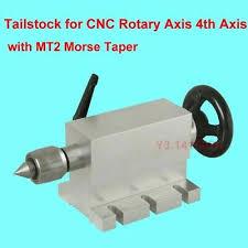 <b>Tailstock</b> For <b>CNC</b> Rotary Axis <b>4th</b> Axis + <b>MT2</b> Morse Taper Live ...