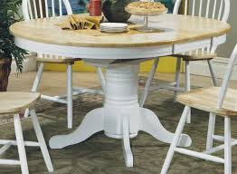 Kitchen Round Pedestal Table Tables For  And Chairs Eiforces - Dining room tables oval