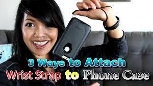 Three Ways to Add a <b>Wrist Strap</b> to <b>Phone Case</b> - YouTube