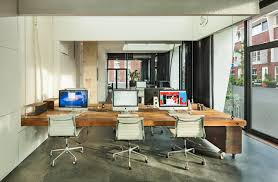 inside mock storefronts allow the company to test out its displays and an open office plan gives workers plenty of options to escape the cubicle life awesome office spaces