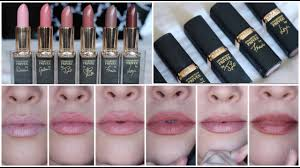 <b>L'Oréal</b> Collection <b>Privee</b> The Perfect Nudes Lipstick Review [All 6 ...