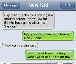 Funny Break Up Texts | Autocorrect Fail Funny Text Messages Blog ... via Relatably.com