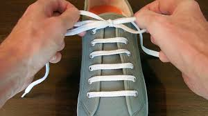 How to Straight Bar <b>Lace</b> your shoes - Professor Shoelace - YouTube