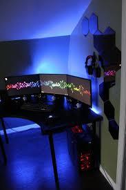 gaming station ideas amazing office desk setup ideas 5