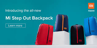 Introducing <b>Mi</b> Step Out <b>Backpack</b> only at ₹249: Order yours now ...