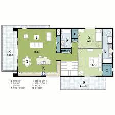 Modern House Plans   Apartment Concept