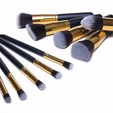 Makeup Tools Foundation New <b>10 Pcs Makeup Brushes</b> Classic ...