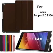 <b>Three Folded</b> Magnetic Smart PU Leather <b>Cover For</b> Asus Zenpad ...