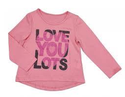 Водолазки и лонгсливы <b>Veddi</b> Фуфайка Love You Lots | xn ...