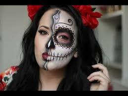 sugar skull day of the dead makeup tutorial 2016 nyx croatia face awards 2016