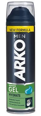 Arko Men <b>Гель для бритья Hydrate</b>, 200 мл – купить в интернет ...