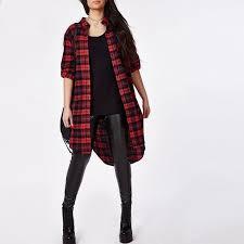 Lazy KoKo Plus Size Plaid Long Sleeve Shirt <b>Turn Down Collar</b> ...