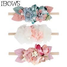 IBOWS Hair Accessories Cute Baby <b>Headband</b> for Wedding Party ...