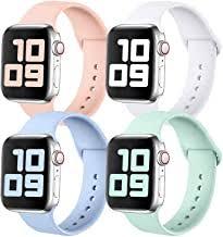 Silicone Apple Watch Band - Amazon.co.uk