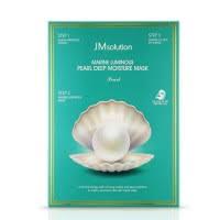 JM solution Marine Luminous Pearl <b>Глубоко увлажняющая маска</b> с ...