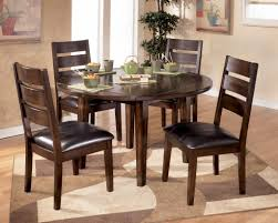 latest dining tables:  hudson perfect design of brown wooden round dining tables plus latest dining table designs with glass
