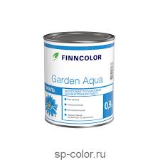 Купить <b>Finncolor Garden</b> Aqua водорастворимая <b>акриловая эмаль</b> ...