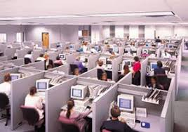 now i will discuss the old and tired high wall offices i dont believe any of us envisioned our lives as walking through a sea of gray cubicle walls band office cubicle
