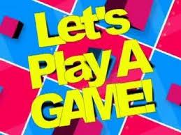 Resultado de imagen de let's play a game