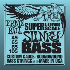 <b>Струны</b> для бас-<b>гитары</b> 45-105 <b>Ernie</b> Ball 2849 Super Long bn ...
