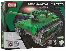 Электромеханический <b>конструктор QiHui Mechanical Master</b> 8011 ...