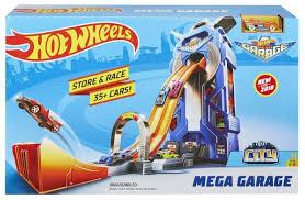 Трек <b>Hot</b> Wheels City Mega Garage FTB68 — купить по выгодной ...
