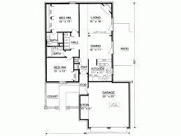 Eplans European House Plan   Two Bedroom European   Square    Level