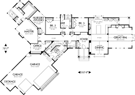 Best of One Story Living   AM   st Floor Master Suite  CAD    Floor Plan