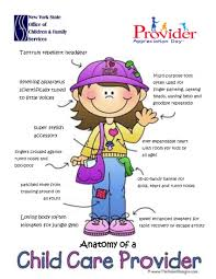 voice the voice of independent childcare workers anatomy of a child care provider poster