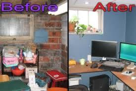 basement office basement home office