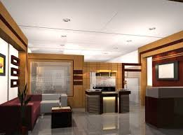 modern executive office interior design mix of mostly neutral colors white ceiling brighter accent office interiors