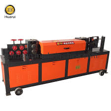 China <b>Hot Sale</b> Bar Cutting Machine Wire <b>Straightening</b> and Cutting ...
