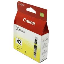 Картридж <b>Canon CLI-42Y</b> (<b>желтый</b>) Желтый (Yellow) — купить в ...