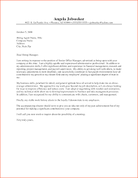 Executive Cover Letter Sample Within Stylish Executive Cover Letter Examples