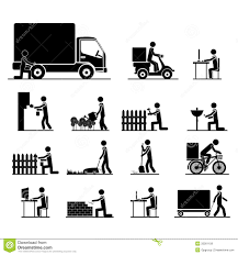 jobs icons royalty stock photos image  jobs icons