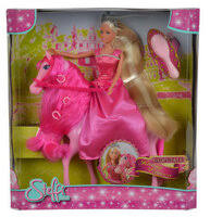 «<b>Кукла Simba Штеффи</b> супер длинные волосы + лошадка, цвет в ...